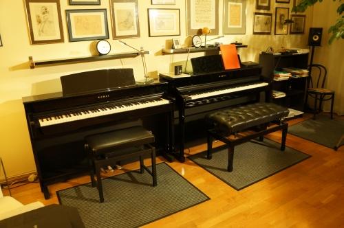 Unterricht an 2 Klavieren!